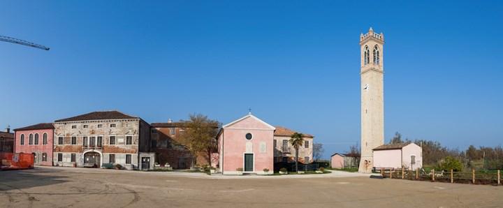 AERtetto per l'ex scuola materna di Lio Piccolo, nella laguna di Venezia