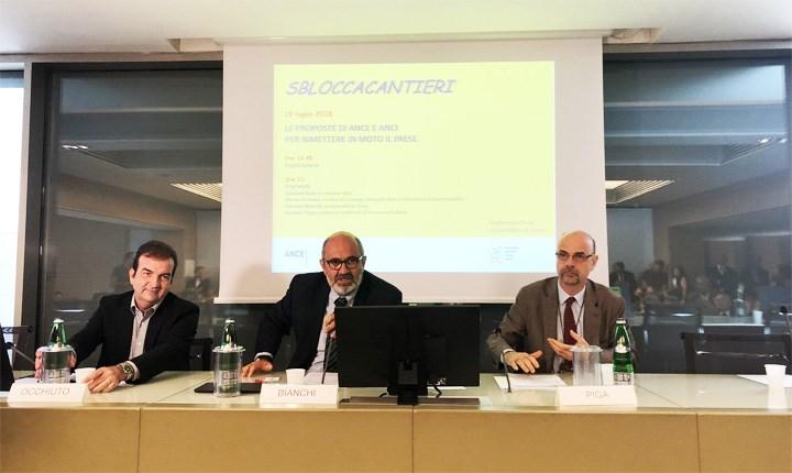 Codice Appalti, Ance e Anci: 'si innalzi a 209mila euro la soglia per affidare i progetti'