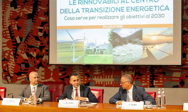 Efficienza energetica, Di Maio: 'rilanceremo gli incentivi per il residenziale'