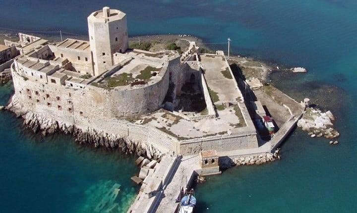 Castello della Colombaia - Trapani (foto tratta da agenziademanio.it)