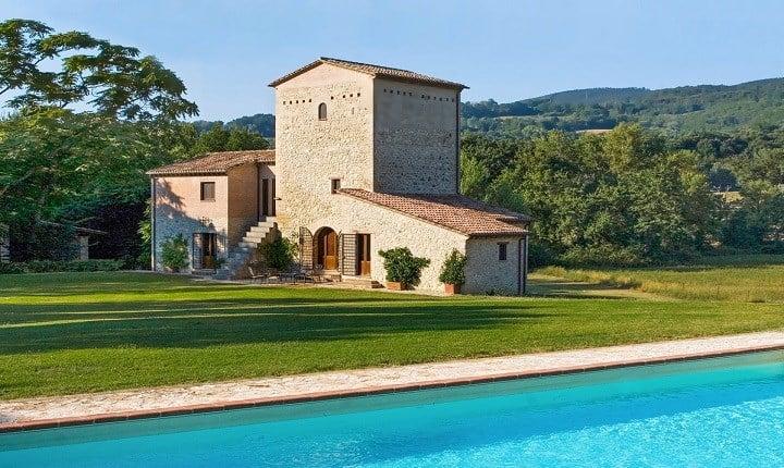 Country house a Narni, Umbria - Foto tratta da: handsomeproperties.com