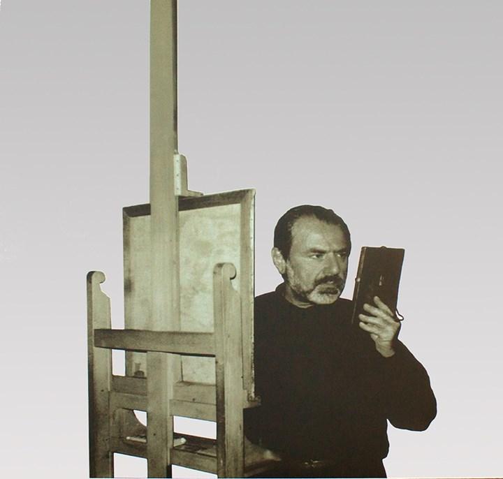 Michelangelo Pistoletto Tra specchio e tela, 1988 Dono di Michelangelo e Maria Pistoletto