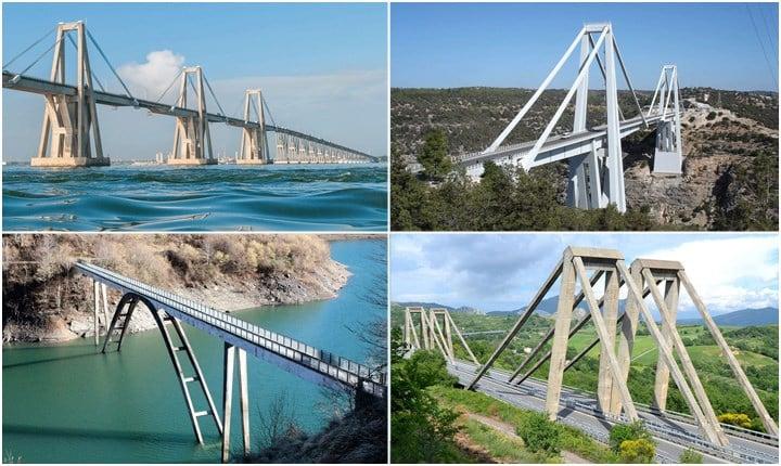 Tutti i ponti di Riccardo Morandi