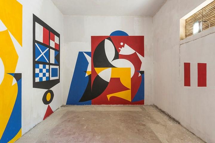 Luca Font_FestiWall 2018_vista della mostra_foto di Marcello Bocchieri