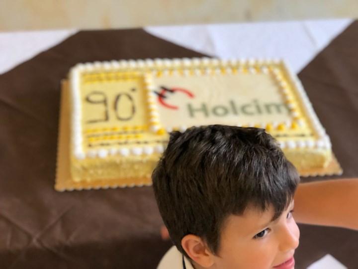 Prima giornata genitori figli in Holcim a Merone