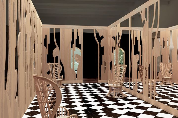 Architetture Immaginarie - Sala Carnelutti, a cura di India Mahdavi
