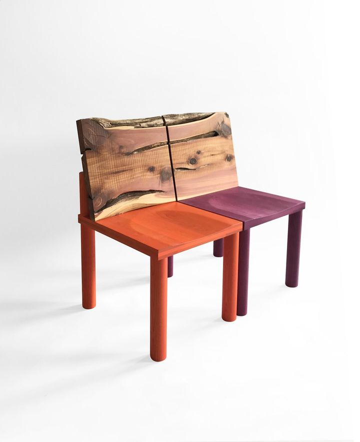 Pierre Gonalons Editions - Studiolo chairs -cupressus sempervirens_©Romaric Tisserand.