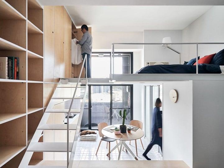 Un mini appartamento di 33 mq