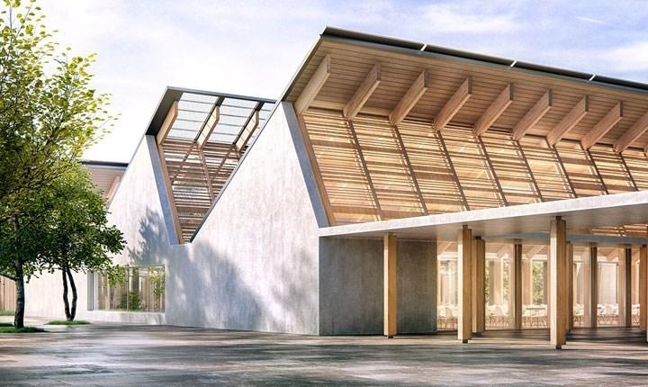 Progetto per la scuola di Crespano del Grappa (Treviso) di Holguin Andres