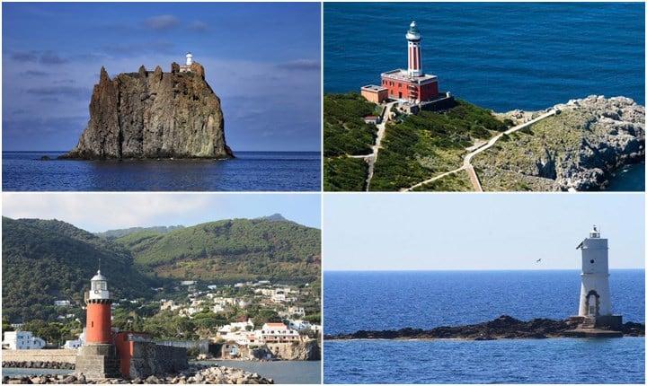 Il punto in cui la terra incontra il mare, i fari più suggestivi d'Italia