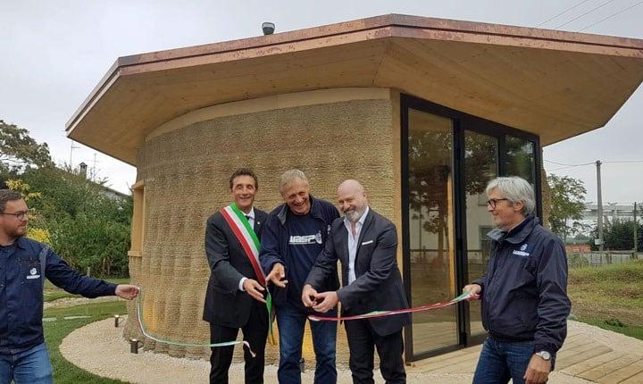 Inaugurazione con il Presidente della Regione Emilia Romagna Stefano Bonaccini
