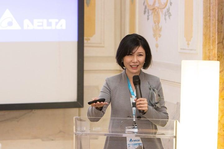 Shan-Shan Guo, Chief Brand Officer di Delta Electronics ed Executive Director della Delta Electronics Foundation