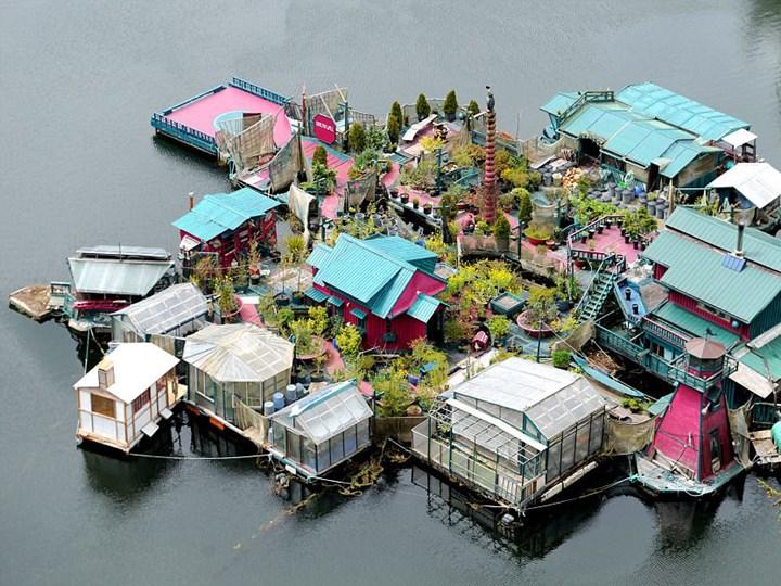 Un'isola artificiale chiamata Freedom Cove