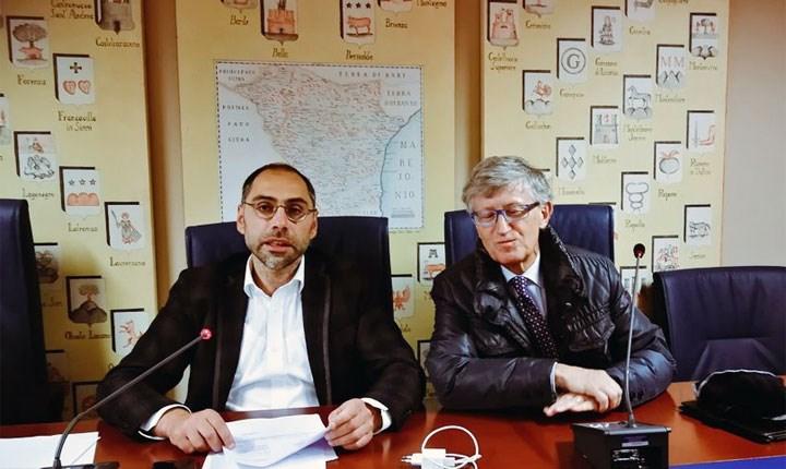 I consiglieri Piero Lacorazza e Vito Santarsiero