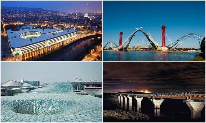 Le prime 10 imprese di costruzione italiane che realizzano i progetti delle archistar