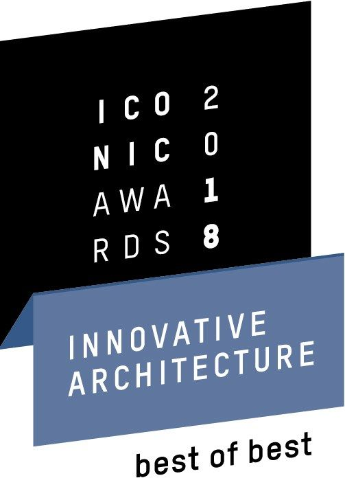 Alla finestra DXW FAKRO il premio ICONIC AWARDS 2018: Innovative Architecture - Best of Best