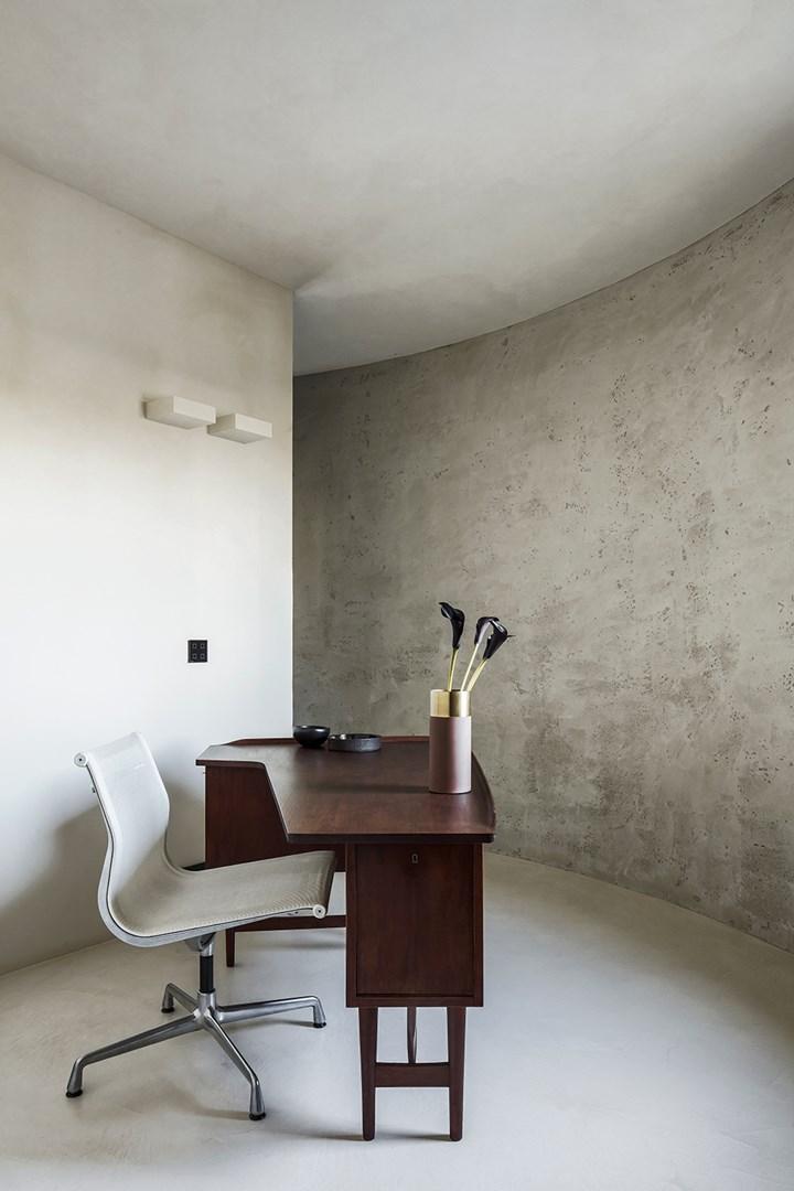 Palette monocromatica in grigio