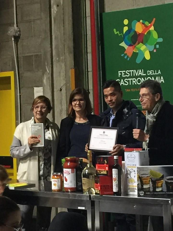Al ristorante Miyama di Milano il premio Isolmant