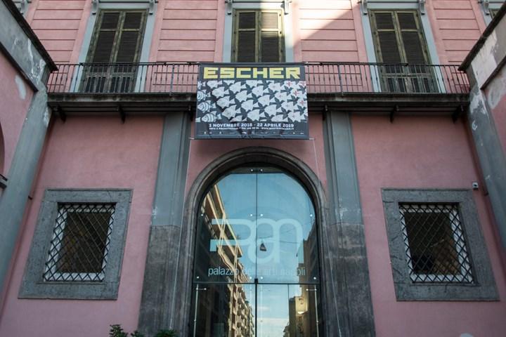 Escher per la prima volta a Napoli