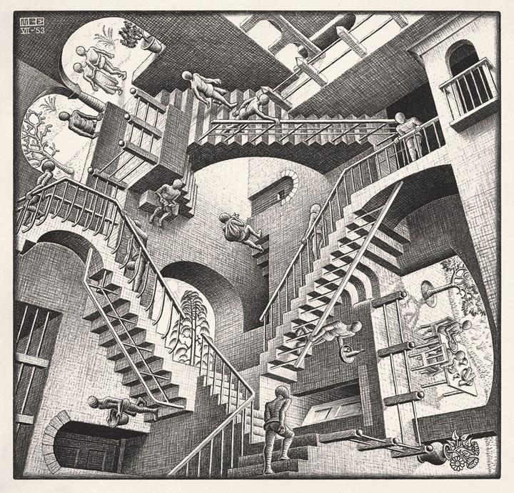 Relativita`, 1953 -