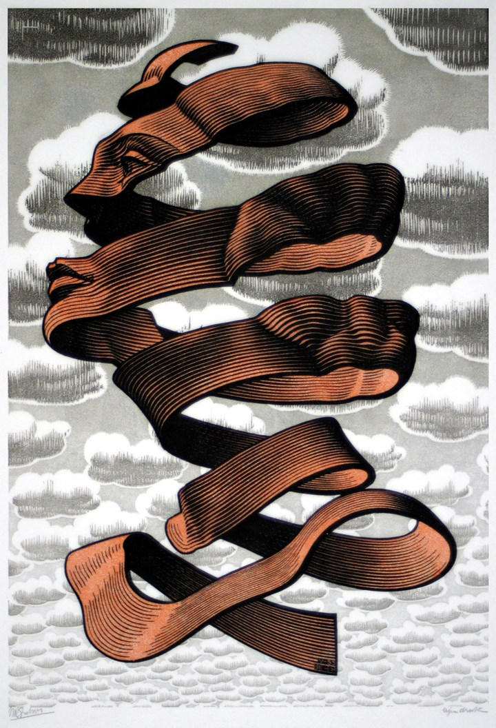 Buccia, 1955 - All M.C. Escher works © 2018 The M.C. Escher Company. All rights reserved