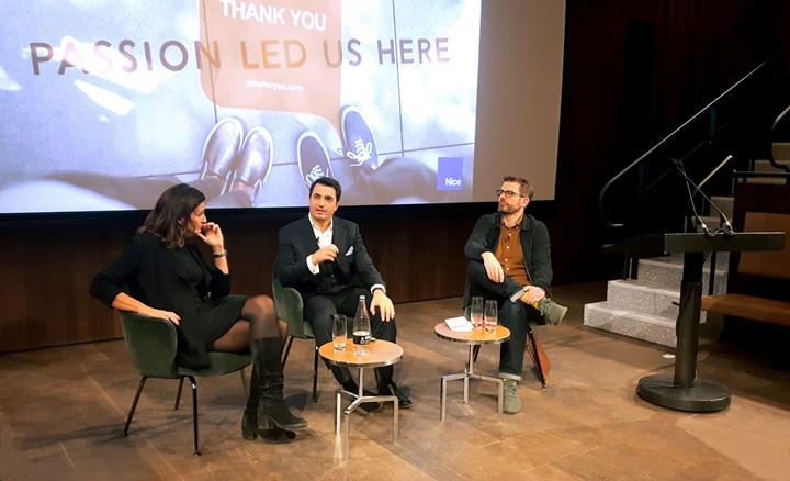 "Nice protagonista del talk 'Digital Futures: is the future of European buildings smart"""