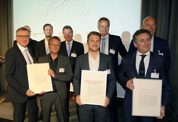 """Viessmann premiata come """"Sponsor dell'Anno"""" nelle competizioni sportive"""