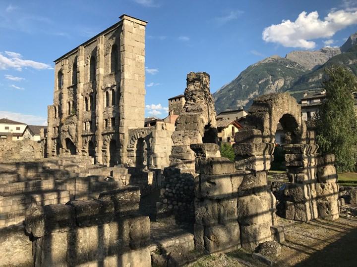 Ad Aosta il concorso per l'area archeologica urbana