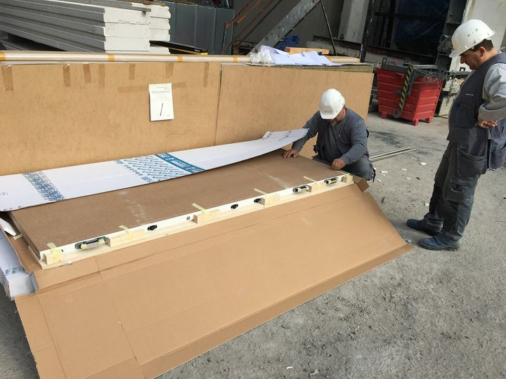 Chemolli Fire con Barausse per la certificazione dei nuovi prodotti per Stati Uniti ed Europa.