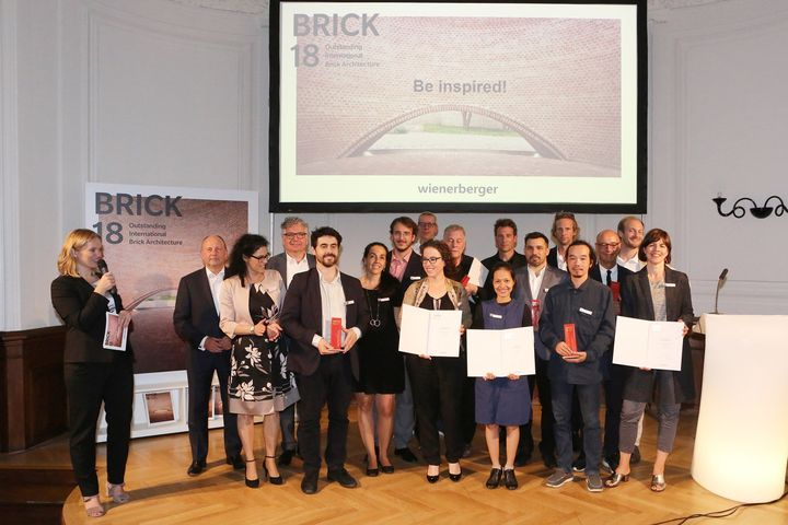 I vincitori dei Wienerberger Brick Award © Eric Deron