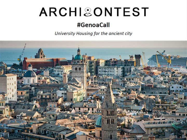 #GenoaCall. University Housing for the ancient city