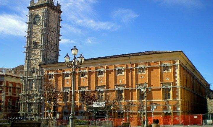 Palazzo Margherita (sede Comune L'Aquila prima del sisma)
