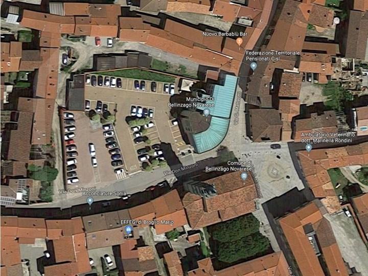 Bellinzago Novarese riqualifica Piazza Egidio Nuvolone