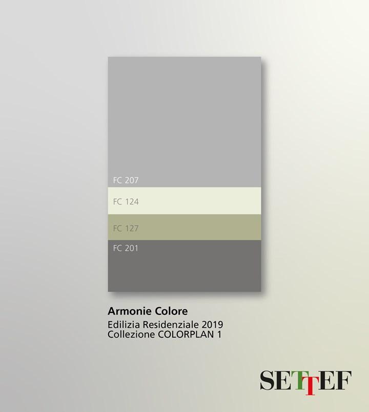 Armonie cromatiche per le facciate degli edifici: le tendenze 2019 secondo Settef