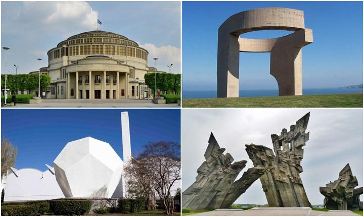 Arte e architettura in cemento, patrimonio culturale del XX secolo