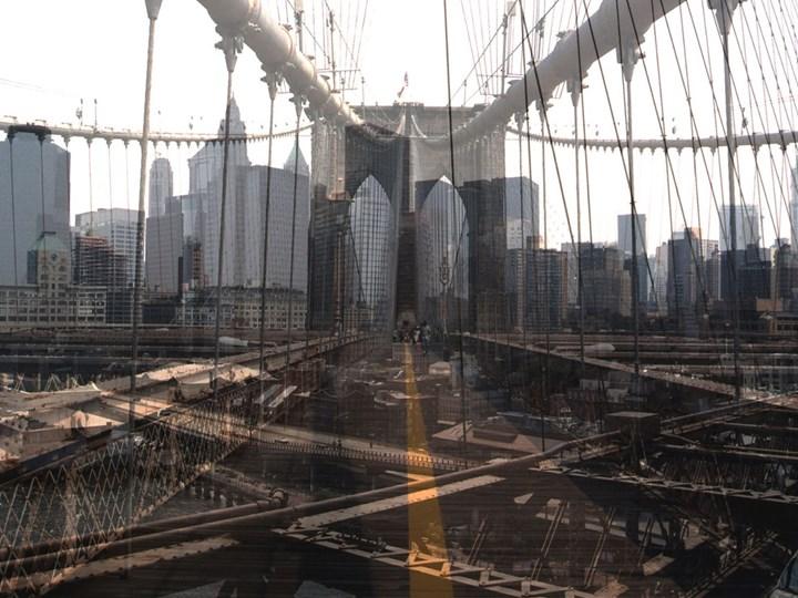 Davide Bramante, My Own Rave. New York (Ponte di Brooklyn), 2017, Esposizione multipla non digitale, cm. 150x230, edition: 5, Courtesy Fabbrica Eos