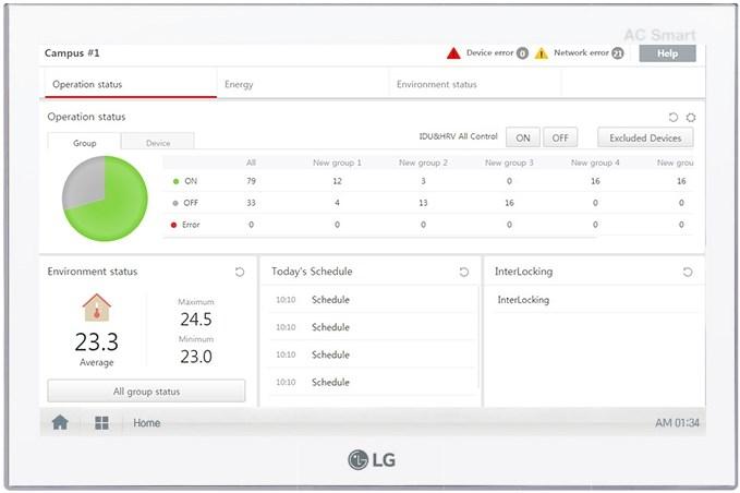 LG AC SMART 5 fissa i nuovi standard  in materia di controllo intelligente