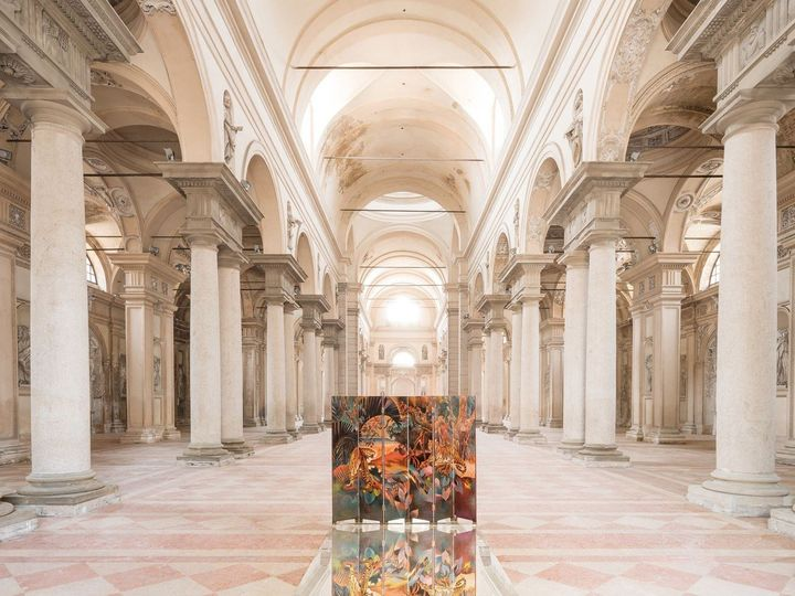Da chiesa abbandonata a galleria d'arte