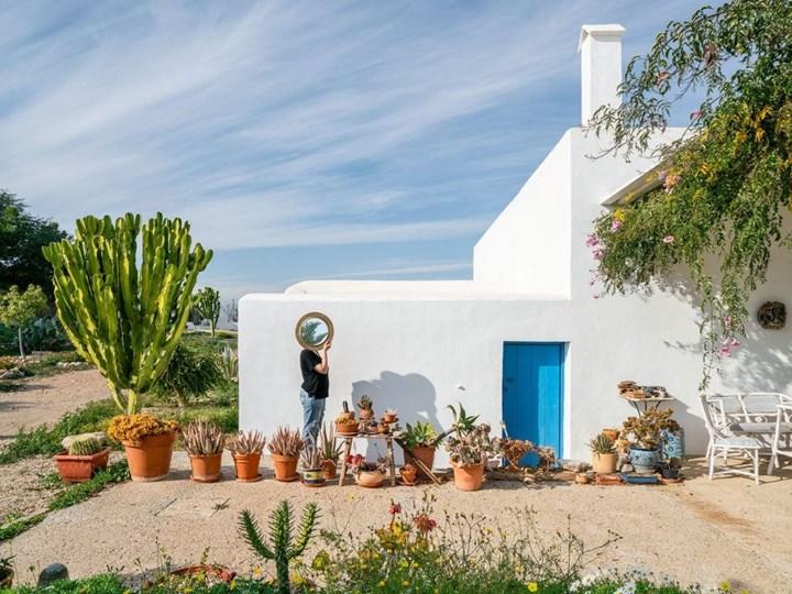 Una casa mediterranea nel deserto