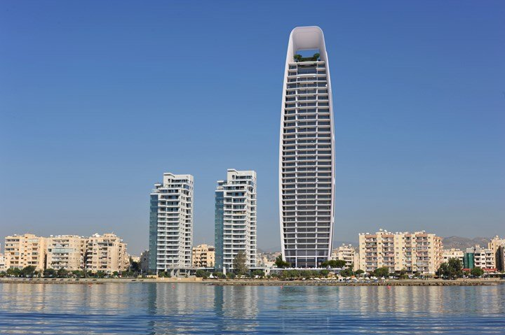 BASF per la One Tower a Limassol a Cipro