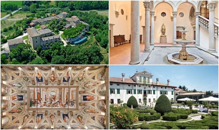 Dimore storiche, i castelli e le residenze d'epoca testimoni del passato