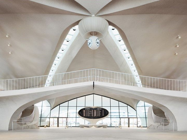 TWA Hotel al JFK: la nuova vita del Flight Center di Saarinen