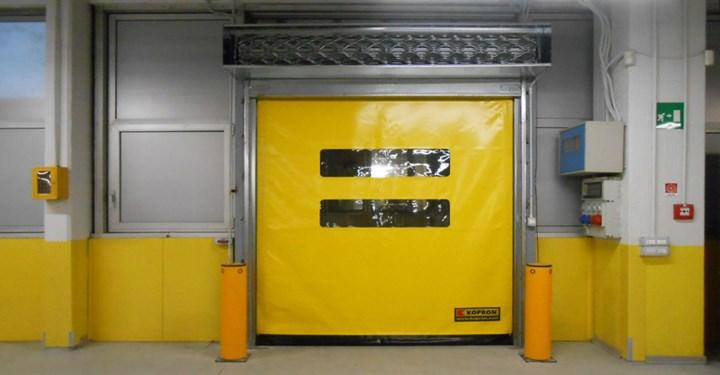 Porte rapide Kopron per l'evoluto centro di meccanizzazione postale a Bologna