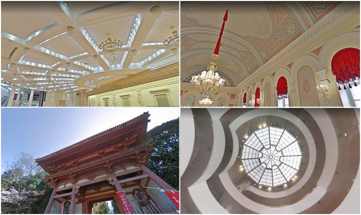 I soffitti più belli del mondo, le architetture viste 'col naso all'insù'