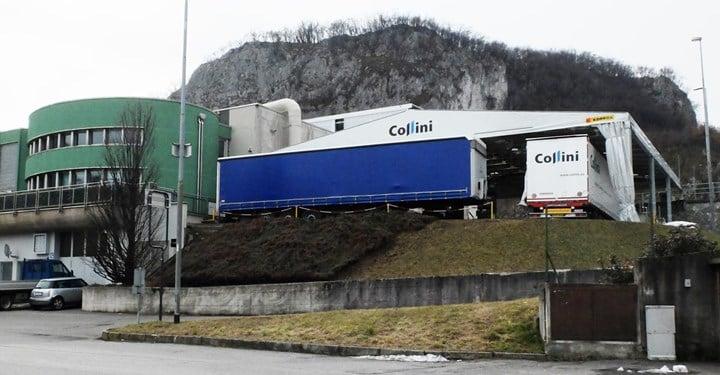 Capannoni in pvc Kopron per ampliare la logistica di Collini a Lecco