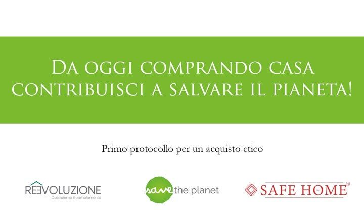 Save The Planet lancia le prime compravendite green