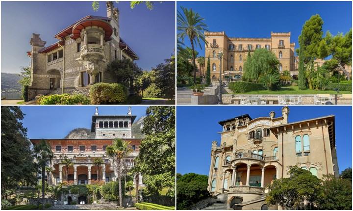 Dimore storiche liberty, le testimoni della Belle Époque in Italia
