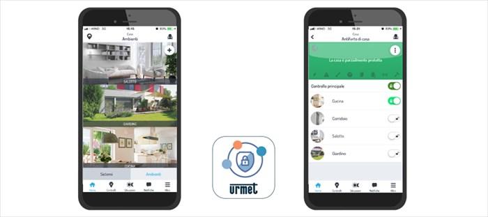 Urmet presenta l'app Urmet Secure
