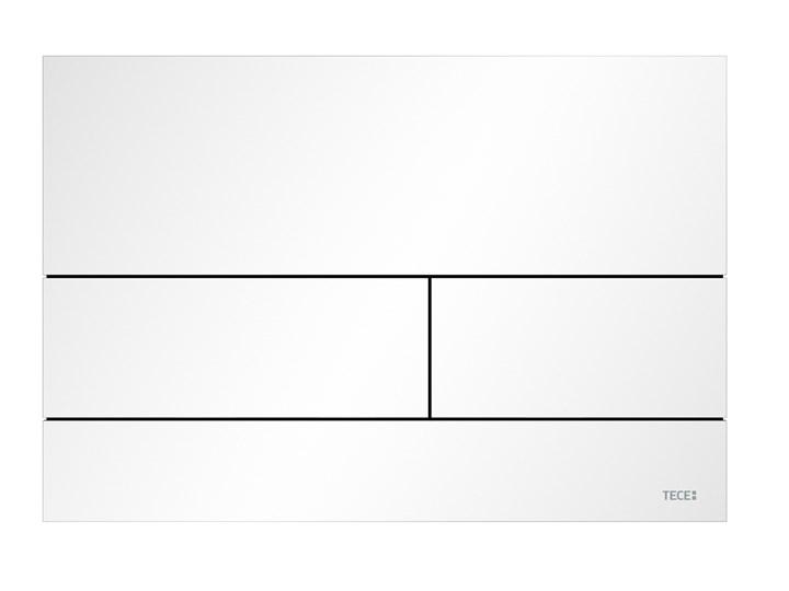 TECEsquare II Metallo - la placca di azionamento WC dal design indimenticabile