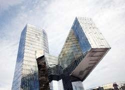 Glaverbel per la facciata della nuova sede Gas Natural a Barcellona